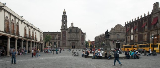 Plaza de Santo Domingo. México D.F.