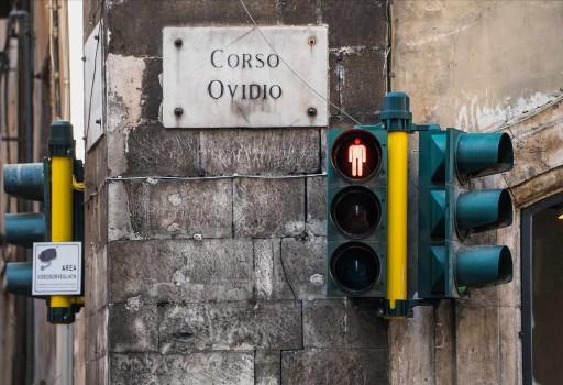 Corso Ovidio, Sulmona (Italia), 2015