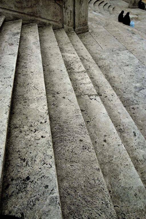 Escalinata de la Piazza di Spagna. Roma. 2005
