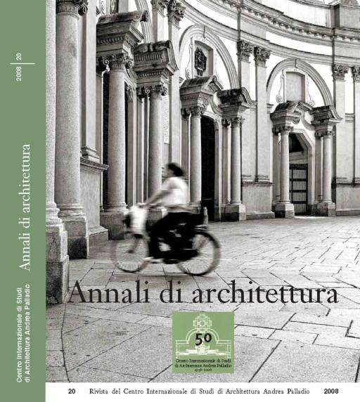 Annali di architettura, Vicenza, nº 20, 2008
