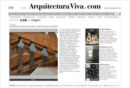 www.arquitecturaviva.com (21/09/2009)
