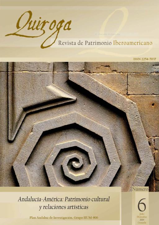 Portada de Quiroga, Revista de Patrimonio Iberoamericano, Granada, núm. 6, 2014