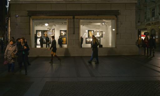 Sala de Exposiciones del Instituto Cervantes de Belgrado. 2015