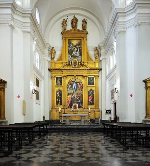 Toledo. Iglesia Santo Domingo el Antiguo. 2012
