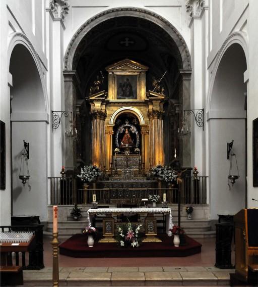 El Greco. Illescas. Toledo. Iglesia del Hospital de la Caridad. Retablo mayor (1603-1605). 2012