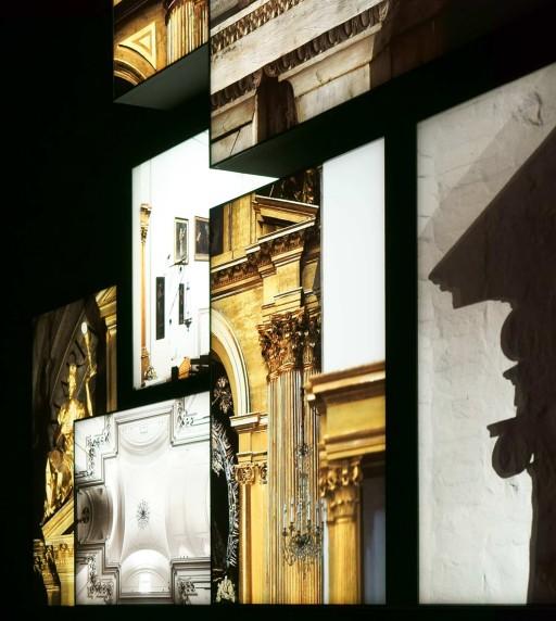 """Museo de Santa Cruz. """"Retablos de retablos"""", en la exposición El Greco: Arte y Oficio. Toledo. 2014"""