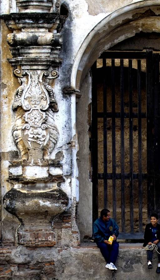 La Antigua. Guatemala. Convento de Santa Clara. 2004