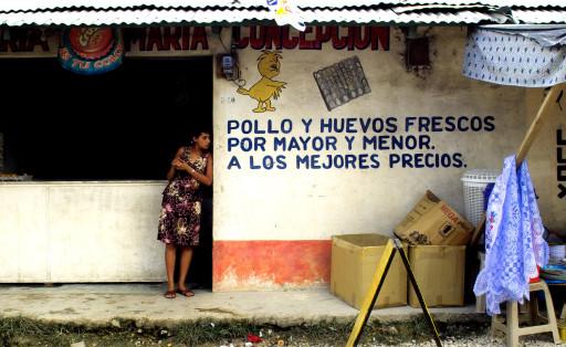 Santa Elena. Flores. Petén. Guatemala. 2004