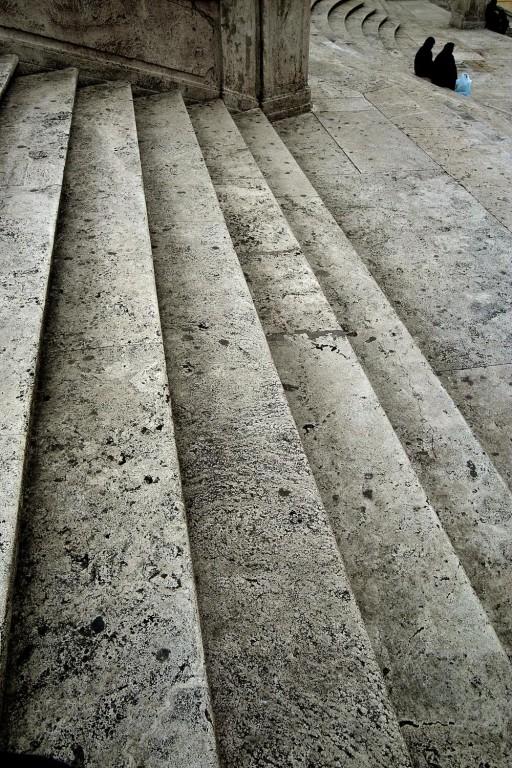 Roma. Escalinata de la Piazza di Spagna. 2005
