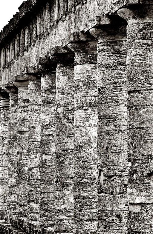 Segesta. Sicilia. Templo. 2005