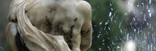 Estatua de Neptuno en los jardines del Parterre (antiguamente en el Huerto de Pontons). Valencia