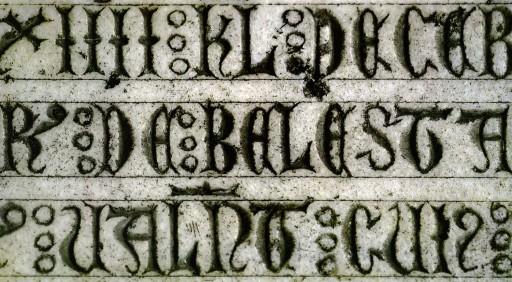 Lauda sepulcral del deán Ramón de Ballestar. Catedral de Valencia. 1289. 2007
