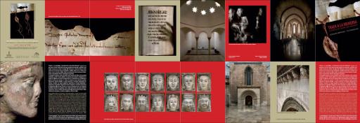 Folleto de la exposición Traer a la memoria en Simat de Valldigna