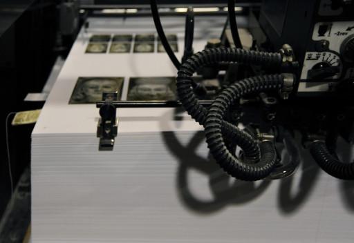 Impresión del libro Traer a la memoria. La Imprenta CG. Valencia