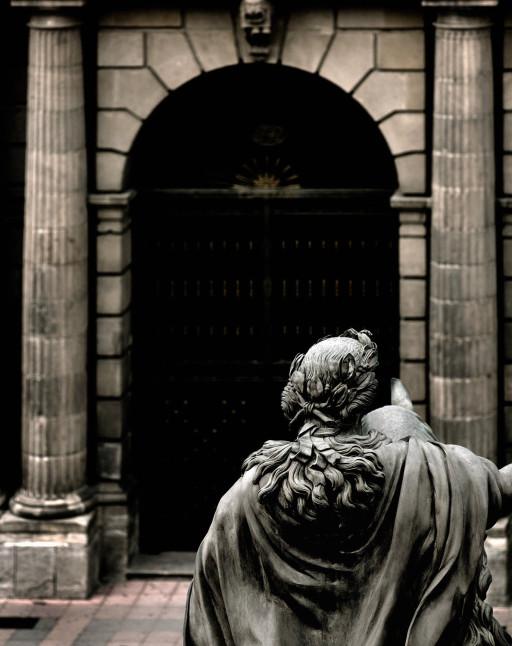 Estatua ecuestre de Carlos IV. Ciudad de México. 2007