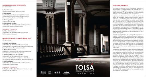 Tríptico de las tertulias Tolsá como argumento (Valencia, 2008)