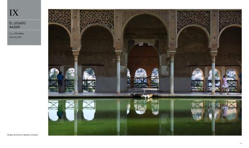 Estanque del Partal. La Alhambra (Por la Historia de España)