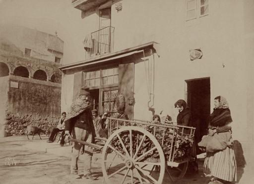 JOSEP MARÍA CAÑELLAS, 1888-89. Paisanos del Alto Ampurdá. Cataluña: Gerona