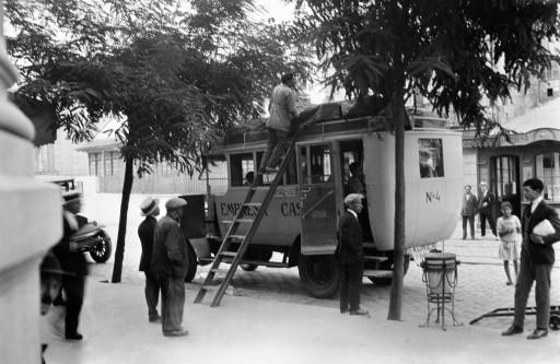 RUTH MATILDA ANDERSON, 7/VIII - 12/IX/1924. Autobús a Santiago. Galicia: Vigo - Pontevedra