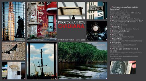 Tarjeta de la serie Photographica Ovidiana en la exposición Ficciones arquitectónicas, Nájera, 2015