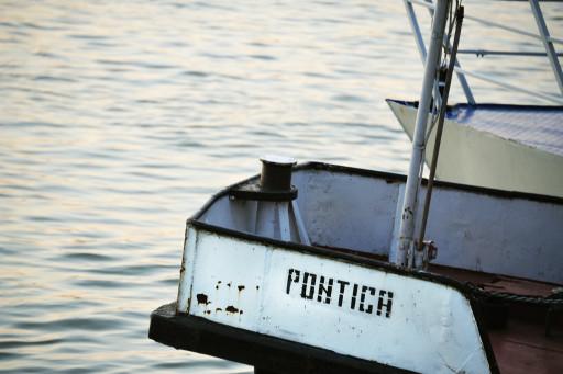 Puerto en el Delta del Danubio, Tulcea (Rumanía), 2011