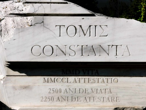 Piedra conmemorativa de la fundación de Constanza (Rumanía), 2011