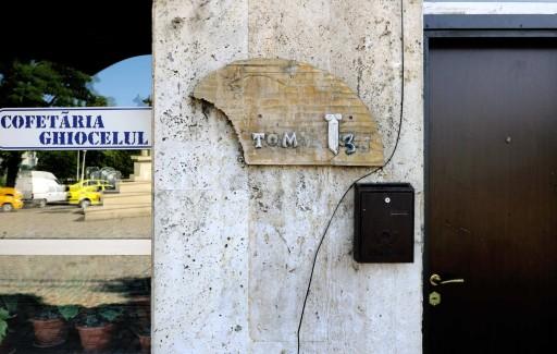 Placa de la calle Tomis nº 36. Constanza (Rumanía), 2011