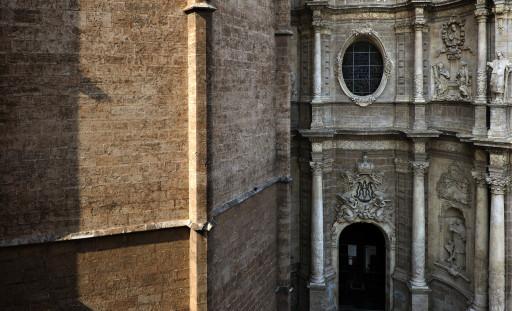 Valencia, Fachada de los Hierros de la Catedral. 2009