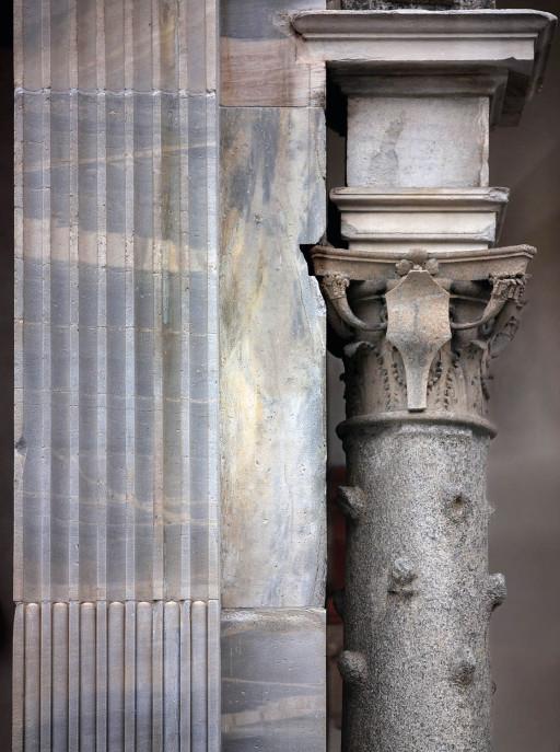 S. Ambrosio, cortile de la Canonica. Milán. 2006