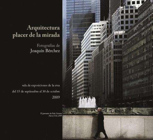Invitación para la exposición en la Escuela Técnica Superior de Arquitectura de Valencia