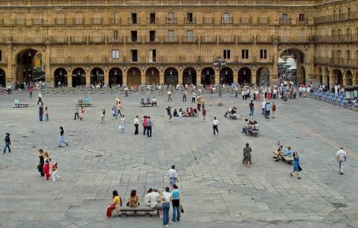 Plaza Mayor. Desde el Ayuntamiento. 2004