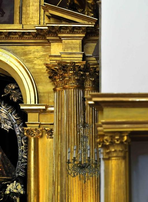 El Greco. Illescas. Toledo. Iglesia del Hospital de la Caridad. Retablo mayor. 2012