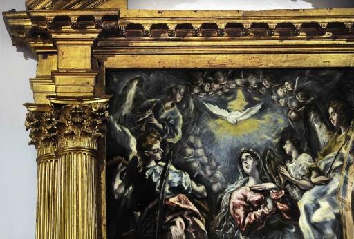 El Greco. Toledo. Retablo de la capilla Oballe de San Vicente Mártir (1607). 2012