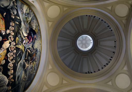 El Greco. Toledo. El entierro del señor de Orgaz (1586-1588). Capilla de Nª Sª de la Concepción, parroquia de Santo Tomé. 2013