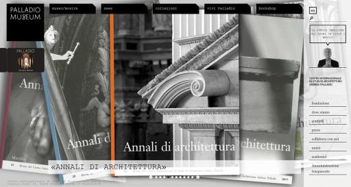 Revistas de Annali  en http://www.palladiomuseum.org/