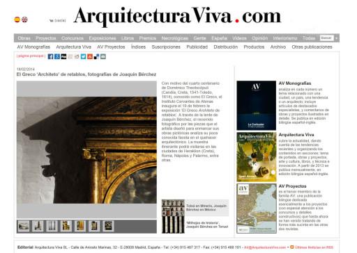 www.arquitecturaviva.com (18/02/2014)