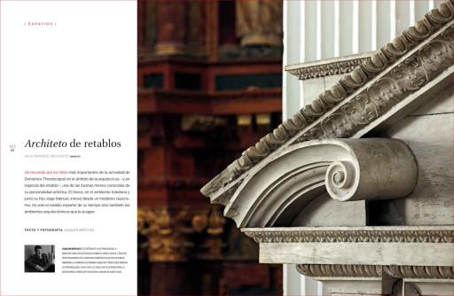 """""""Architeto de retablos"""", (Joaquín Bérchez), ArsMagazine, núm. 26, 2015."""