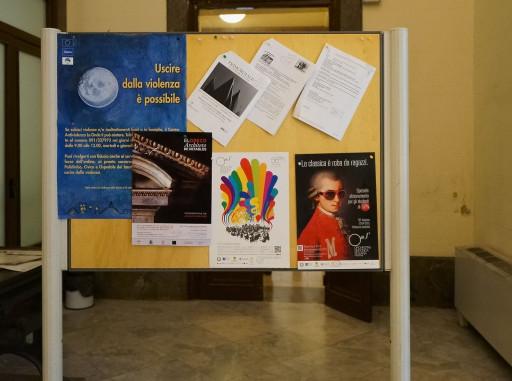 Cartel de la exposición, Collegio Massimo de Palermo