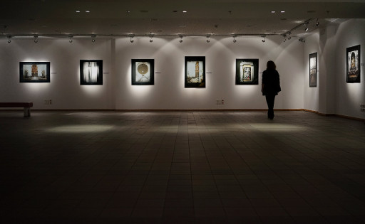 Sala de Exposiciones del Instituto Cervantes. Atenas. 2014