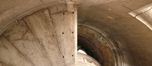 Xàtiva. Colegiata. Escalera de la torre campanario. 2007