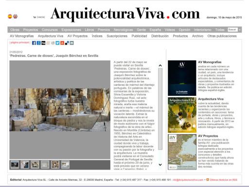 www.arquitecturaviva.com (21/05/2012)
