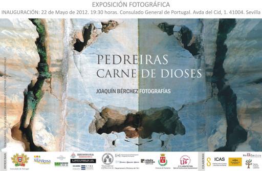 Invitación de la exposición en Sevilla