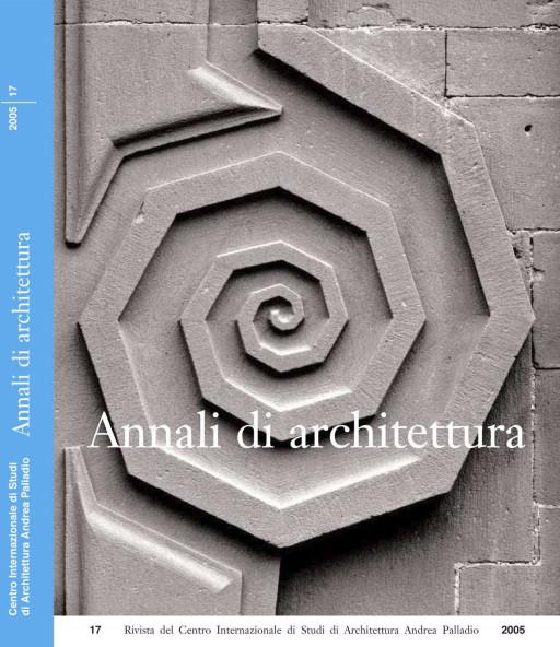Annali di architettura, Vicenza, nº 17, 2007