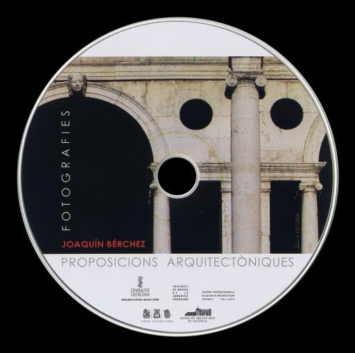Carátula del Cd del catálogo de la exposición