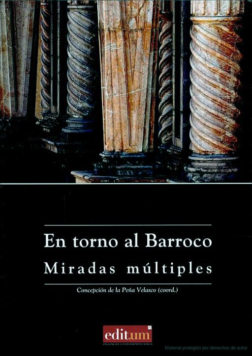 """Cubierta del libro """"En torno al Barroco. Miradas múltiples"""", Murcia, 2007"""