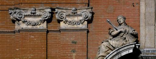 Fachada de la iglesia Santo Tomás y San Felipe Neri (antigua de la Congregación). Valencia