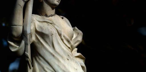 Estatua de Diana en los jardines del Real o Viveros (antiguamente en el Huerto de Pontons). Valencia