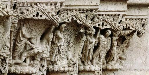 Portada del Palau de la catedral de Valencia. Siglo XIII. 2007