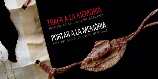 Invitación de la exposición Traer a la memoria en Simat de Valldigna