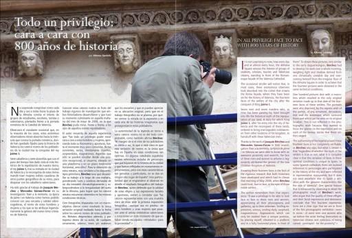 """""""La última mirada del Románico"""", Alfonso Sanfeliu, Revista Catedral de Valencia, nº 3, 2010"""